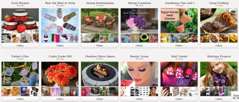 Walmart Boards - Pinterest Guide for Business